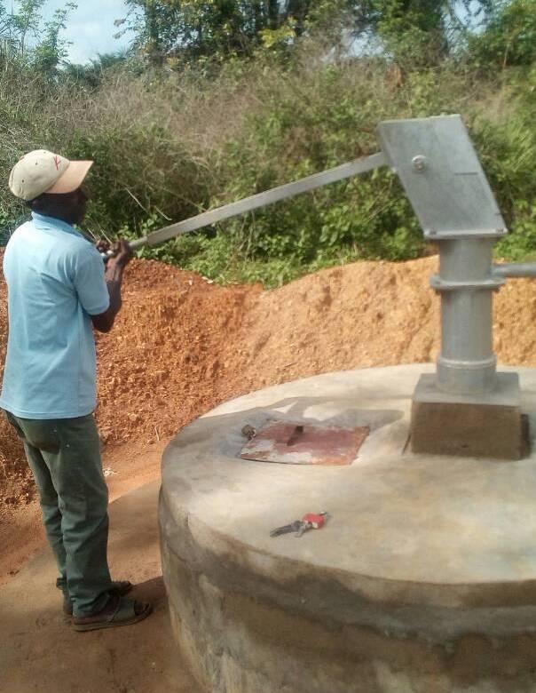 Milentash Building Water Well