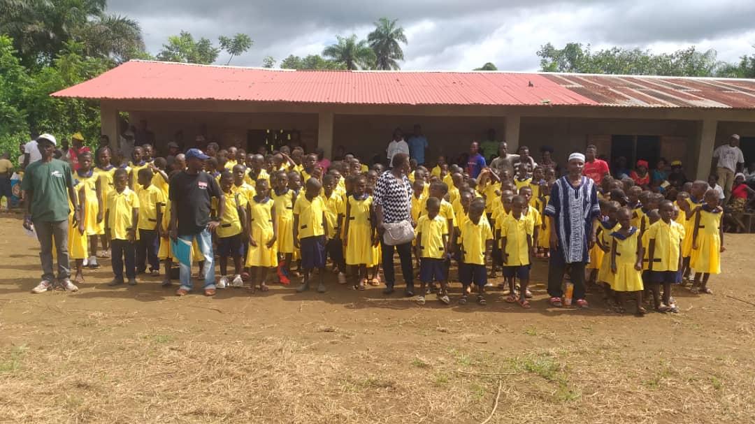 Milentash School Group Photo